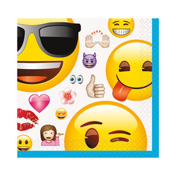 EMOJI BEVERAGE NAPKINS (16 PACK)
