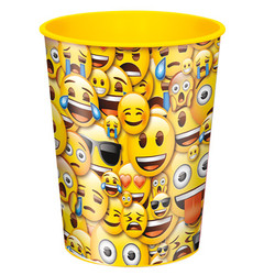 EMOJI 16OZ FAVOR CUP SMILE