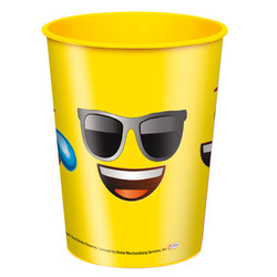 EMOJI 16OZ FAVOR CUP FACES