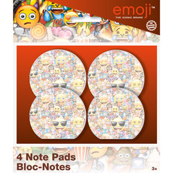EMOJI NOTE PADS (4 COUNT)