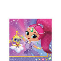 Shimmer & Shine Beverage Napkins (16 pack)