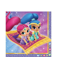 Shimmer & Shine Lunch Napkins (16 pack)