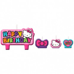 Hello Kitty Rainbow® Birthday Candle Set
