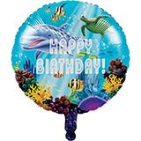 """Ocean Party 18"""" Balloon"""