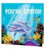 Ocean Party Invitations (8)