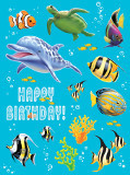Ocean Party Sticker Sheets (4)