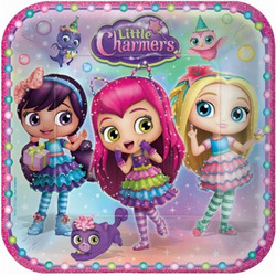 "Little Charmers 9"" Plates (8)"
