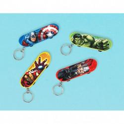 Avengers™ Skateboard Keychain Favor (each)