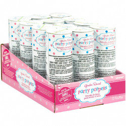 Girl Confetti Poppers (12 pack)