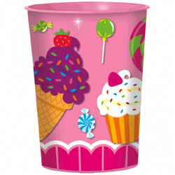 Sweet Shop Favor Cup