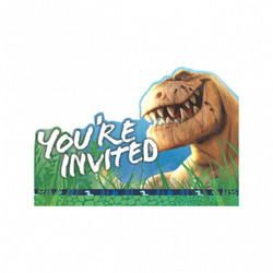 The Good Dinosaur Invitations 8 Count