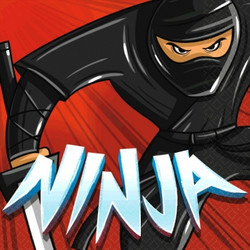 Ninja Beverage Napkins (16 pack)