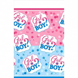Girl or Boy? Plastic Tablecover