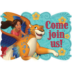 Disney Elena of Avalor Postcard Invitations (8)