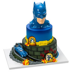 Batman to the Rescue Signature Cake DecoSet