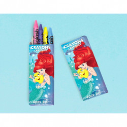 Disney Ariel Dream Big Crayons 12 pk