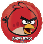 "Angry Birds 9"" Red Bird Balloon"