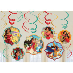 Disney Elena of Avalor Value Pack Foil Swirl Decorating Kit (12)