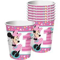 Disney Minnie's Fun To Be One 9oz Cups (8)