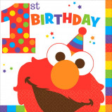 Elmo Turns One Lunch Napkins (16)