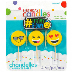 Emoji Icon Candle Pack