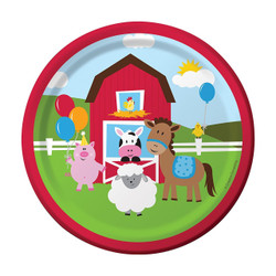 Farmhouse Fun Dessert Plates (8)