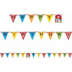 Farmhouse Fun Shaped Ribbon Banner