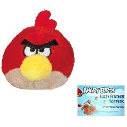 Angry Birds Fuzzy Pencil Topper - Red Bird