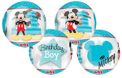 Mickey's 1st Birthday Orbz