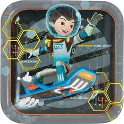 "Miles from Tomorrowland 9"""""""""""""""" Dinner Plates 8 Count"