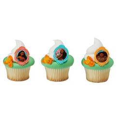 Moana Voyagers Cupcake Rings (12)