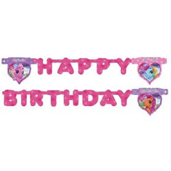 my little pony happy birthday banner