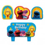 New Sesame Street Birthday Candle Set