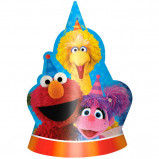 New Sesame Street Die-Cut Paper Hats (8)