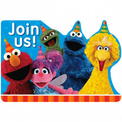 New Sesame Street Postcard Invitations (8)