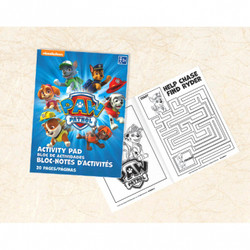 Paw Patrol Activity Pad (each)