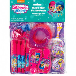 Shimmer and Shine Mega Mix Value Pack Favors (48 piece)