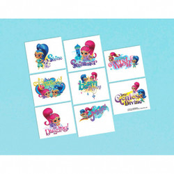 Shimmer and Shine Tattoo Favors (8)