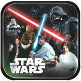 "Star Wars Classic Dinner Plates 9"""" (8)"