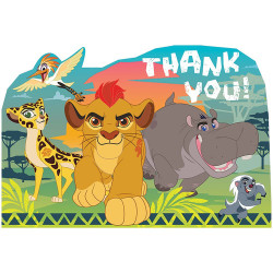 The Lion Guard Postcard Thank You Cards (8)