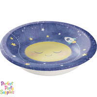 To the Moon and Back 20 oz Paper Bowls (8)
