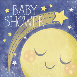 To the Moon and Back Baby Shower Lunch Napkins (16)