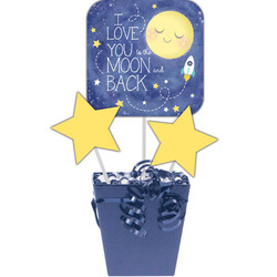 To the Moon and Back Centerpiece Sticks (3)
