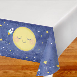 To the Moon and Back Plastic Tablecover
