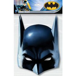 Unique Batman Party Masks, 8ct