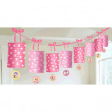 Minnie 1st Birthday Paper Lantern Garland