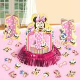 Disney© Minnie 1st Birthday Value Table Decorating Kit