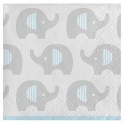Little Peanut Boy Elephant Cocktail Beverage Napkins