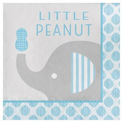 t Little Peanut Boy Elephant Napkins