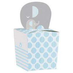 Little Peanut Boy Elephant Favor Boxes